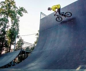 Волл райд высотой -5м в скейт-парке в г.Йошкар Оле