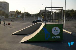 боковые панели скейт парка