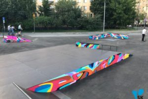 боковые панели скейт парков