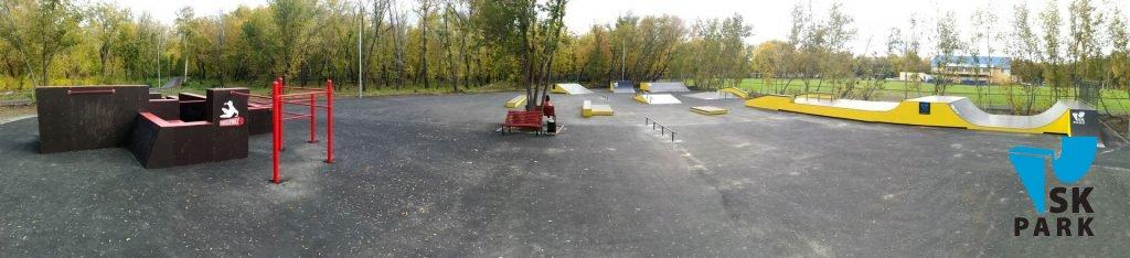 Спортивный кластер: Скейт парк и Паркур площадка г.Орск / Skatepark and Parkour park in Orsk
