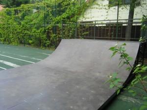 Мини-рампа в скейт-парке в поселке Горки-10