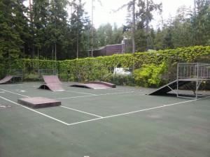 Скейт-парк в поселке Горки-10