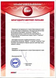 Ильющенков В.В., Президент федерации экстремального спора Красноярского края