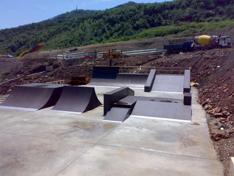 Скейт-парк, г.Будва, Черногория
