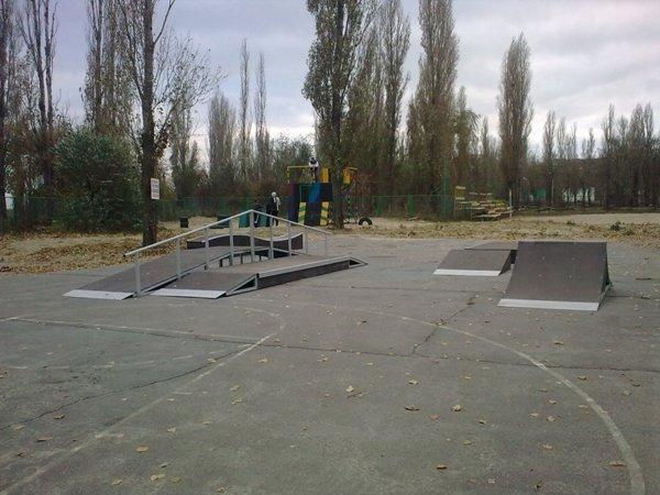 Скейт-парк в г. Таганрог.