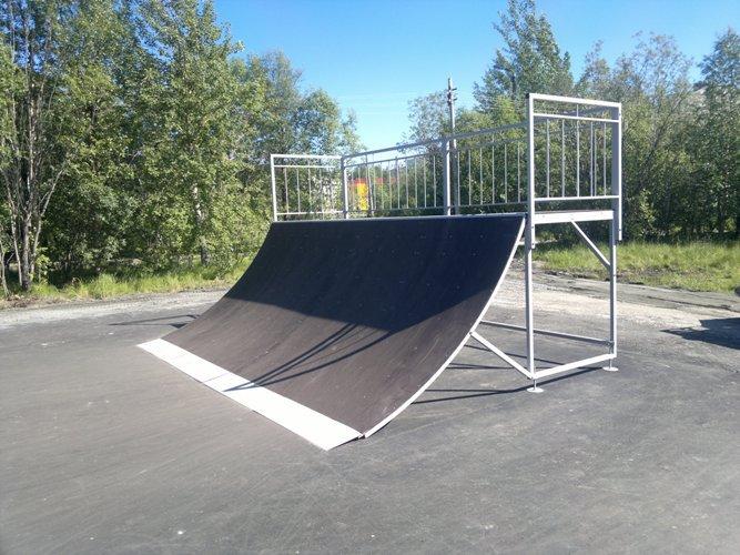 Скейт-парк в г.Мончегорск, Мурманская обл.