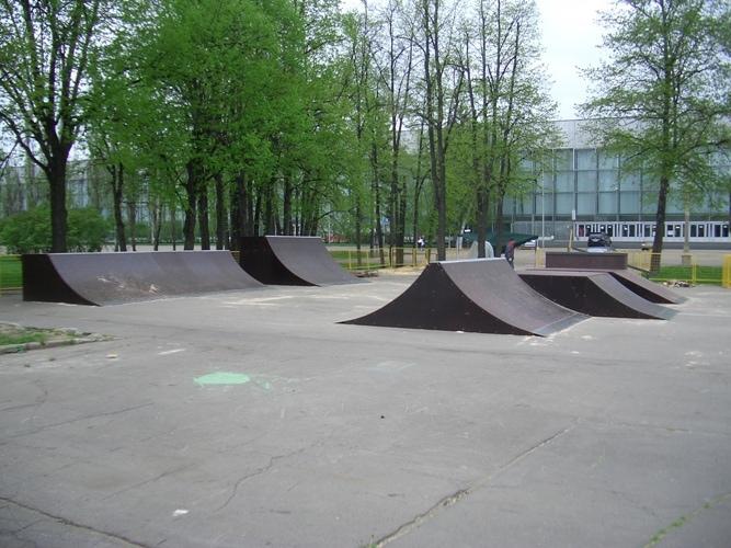 Скейт-парк на ВДНХ, г.Москва.