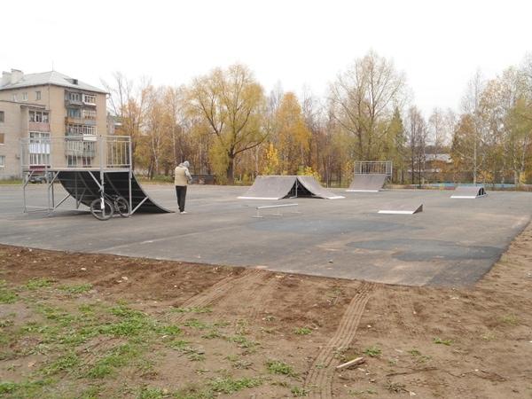 Скейт-парк в г. Аша, Челябинская область