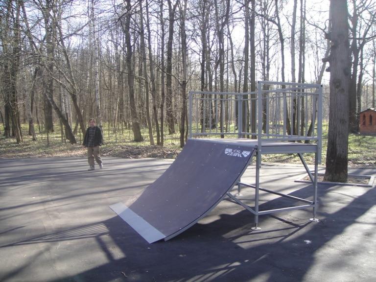 Установлен скейт-парк в г.Ступино, Московская область