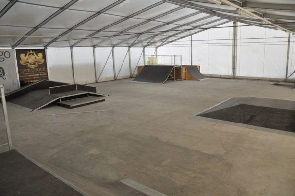 Экспортная отгрузка скейт-парка в г.Кишинев, Молдавия