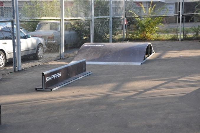 Скейт-парк в г. Курчатов, Курская область