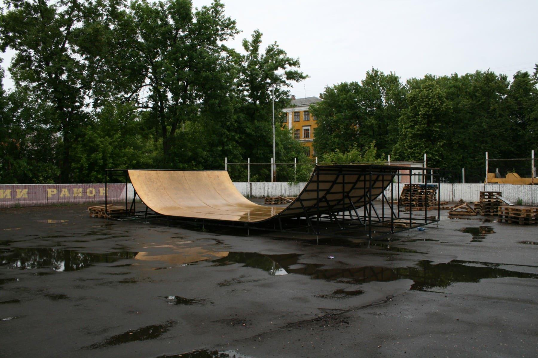 Скейт парк, г.Ярославль