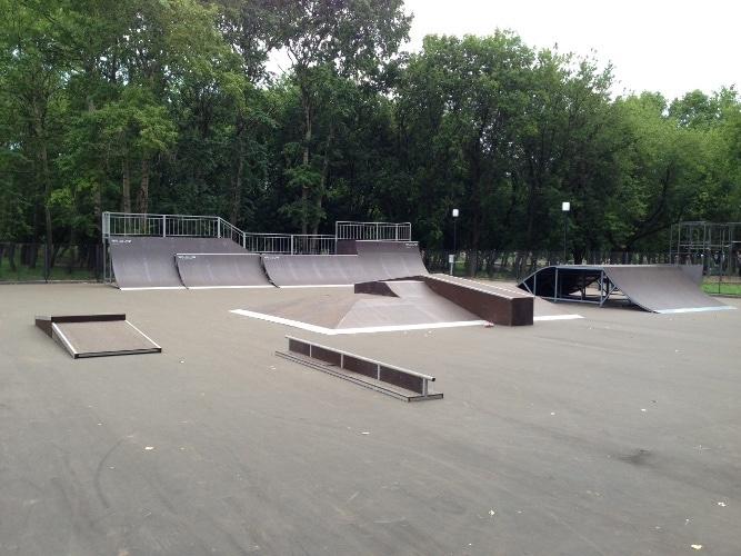Скейт-парк в г. Кирове