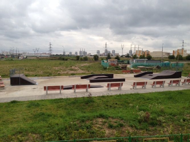 Скейт-парк в Люберцах, МО