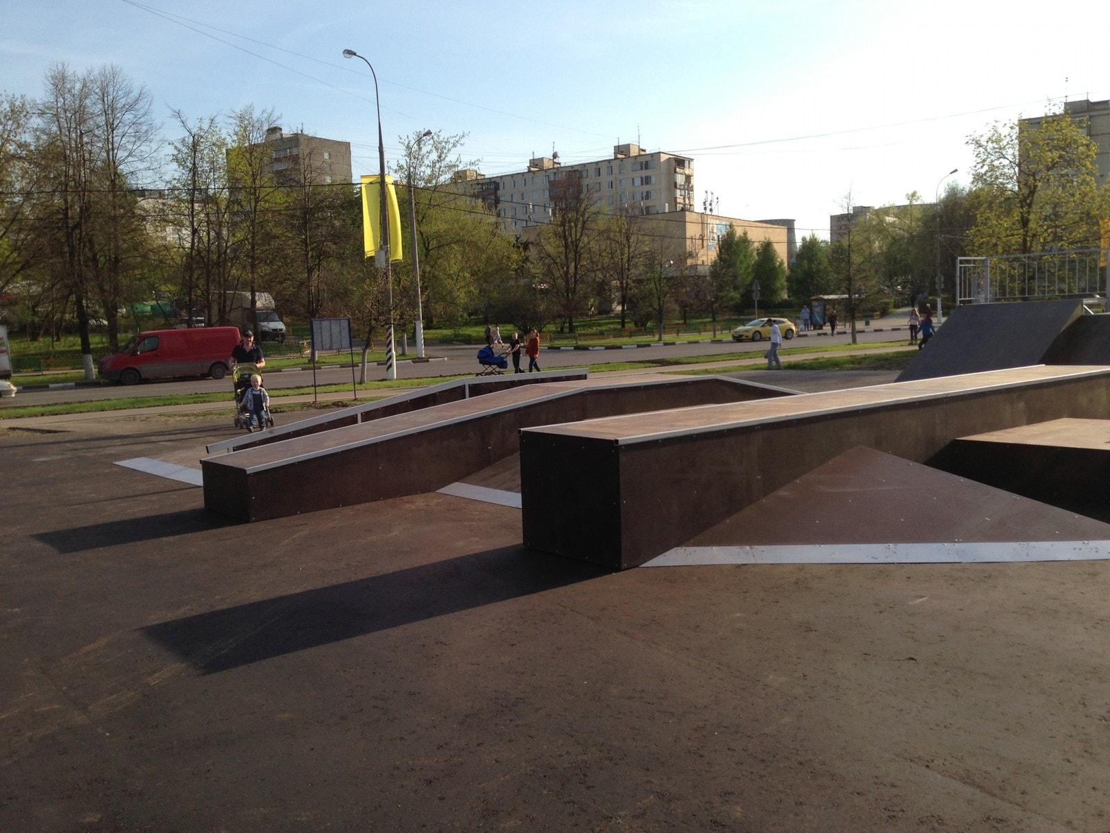 Скейт-парк в Бирюлево-Западное, г. Москва