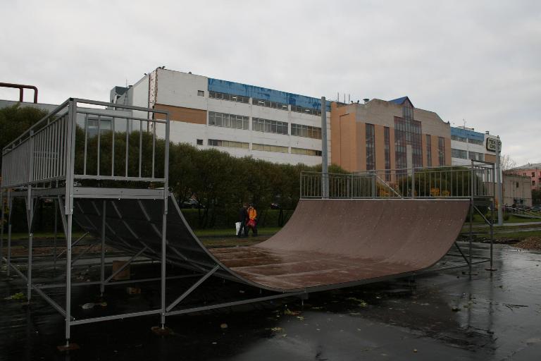 Мини халф-пайп в Иваново