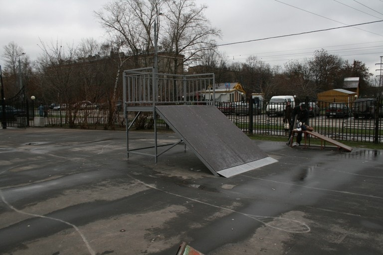 Скейт-парк район «Коптево», г. Москва