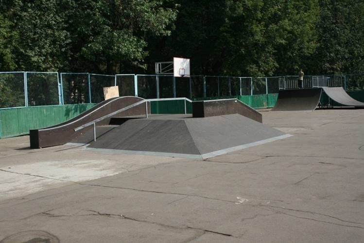 Скейт-парк в Соколиной горе