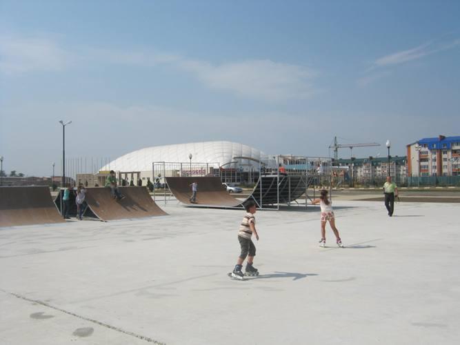 BMX парк в г. Ейск, Краснодарский край