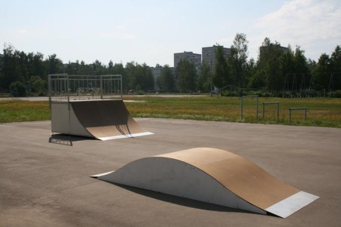 Скейт-парк в г. Радужный, Владимирская обл.
