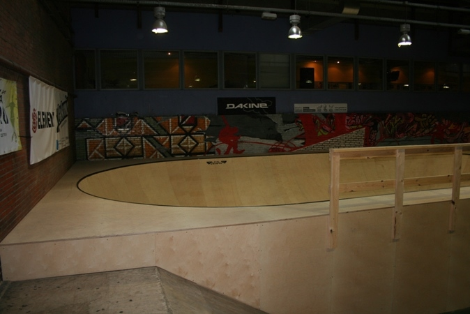 Пул в скейт-парке Адреналин, г.Москва