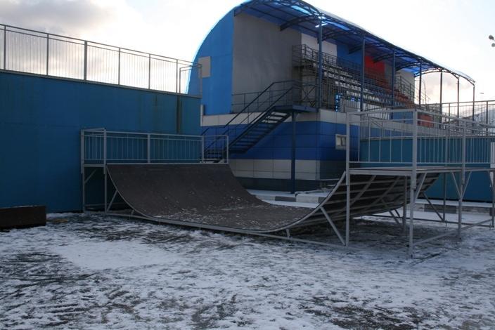 Мини-рампа в районе Ново-Переделкино