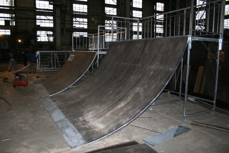 Скейт-парк для г. Шелехов, Иркутская обл.