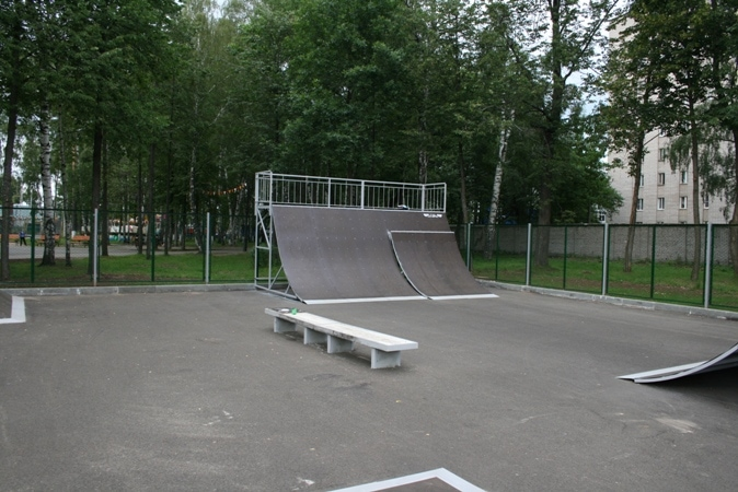 Скейт-парк и Паркур-парк в г.Иваново.