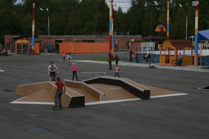Скейт-парк в г. Северодвинск, Архангельская обл.