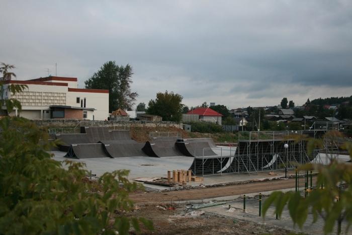 BMXпарк в г.Березовский