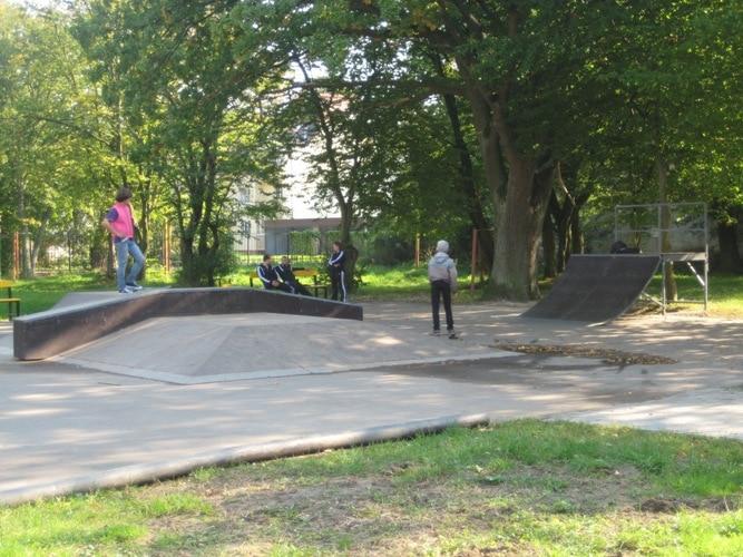 Скейт-парк в г. Пионерский, Калининградская обл.