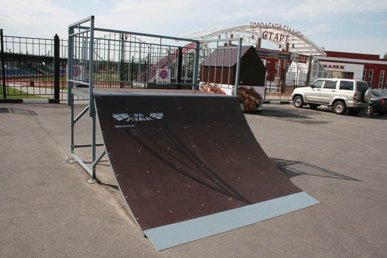 Поставка скейт-парка в г.Нововоронеж, Воронежская область.