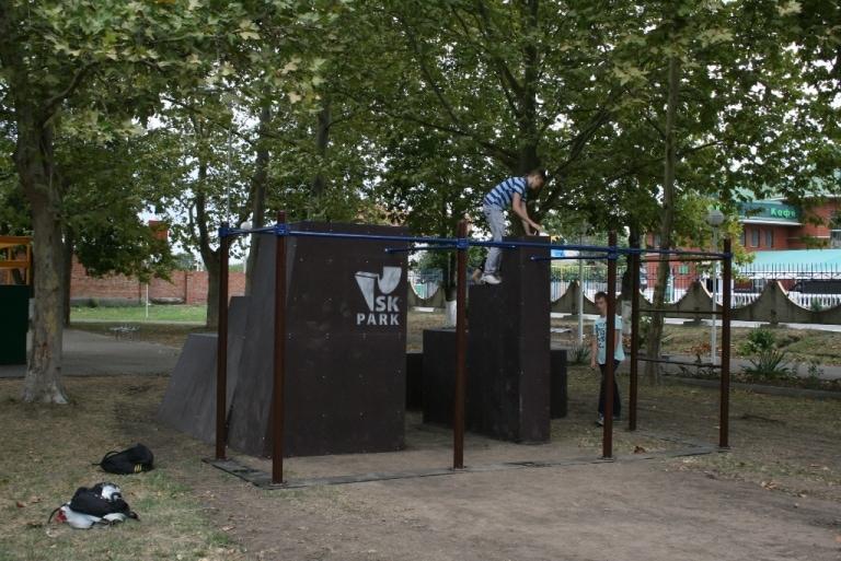 Поставка паркур парка в г.Гулькевичи, Краснодарский край