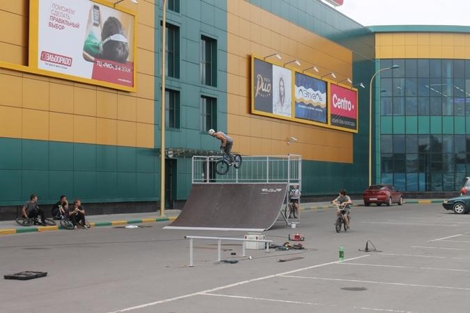 Скейт-парк в г. Вологда
