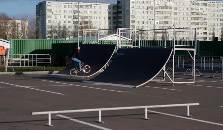 Скейт-парк в г. Казань