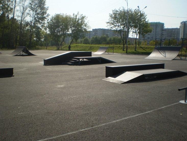 Скейт-парк в г. Прокопьевск, Кемеровская обл.