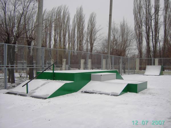 Скейтпарк в г.Волжский