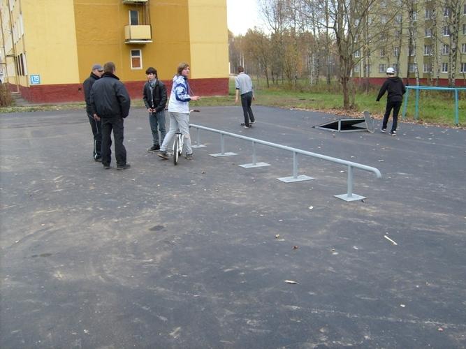 Скейт-парк в г.Десногорск