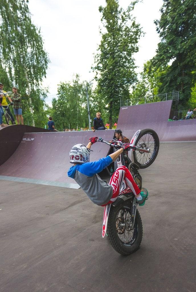 Скейт-парк в г.Йошкар Оле!