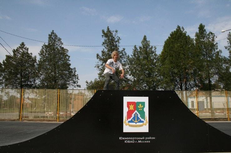 Скейтпарк в Кущевской станице Краснодарского Края