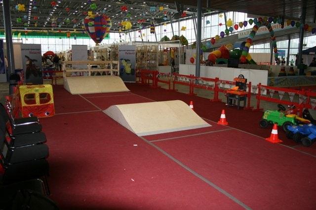 Оборудование для выставки Спортлэнд-2012