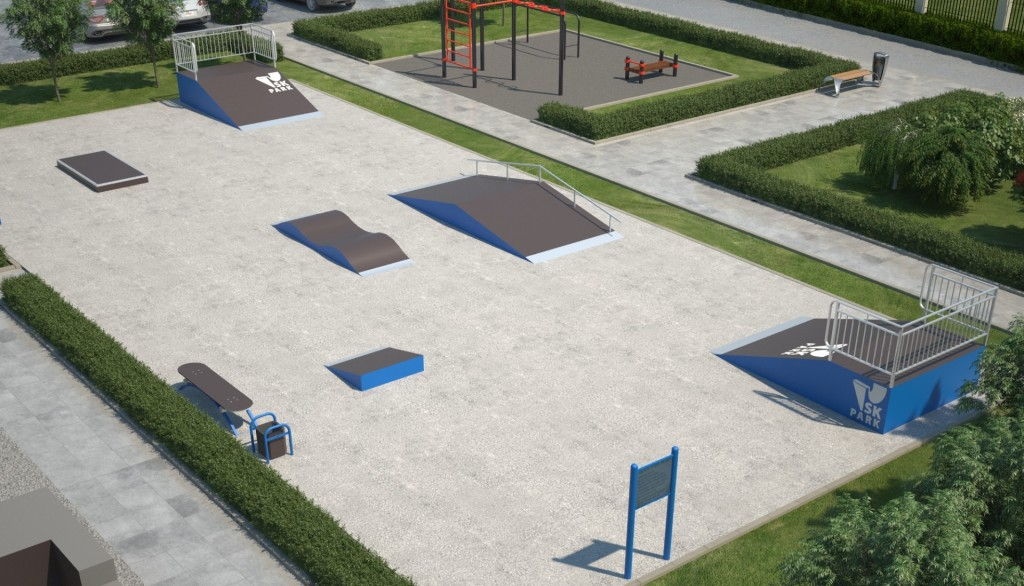 Проект скейтпарка SK 25-11