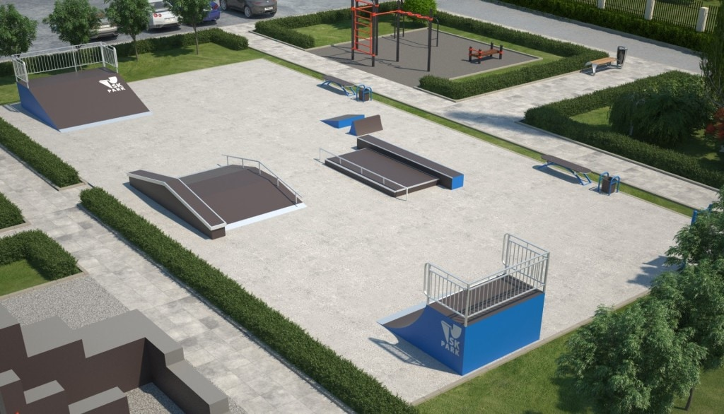 Проект скейтпарка SK 25-13