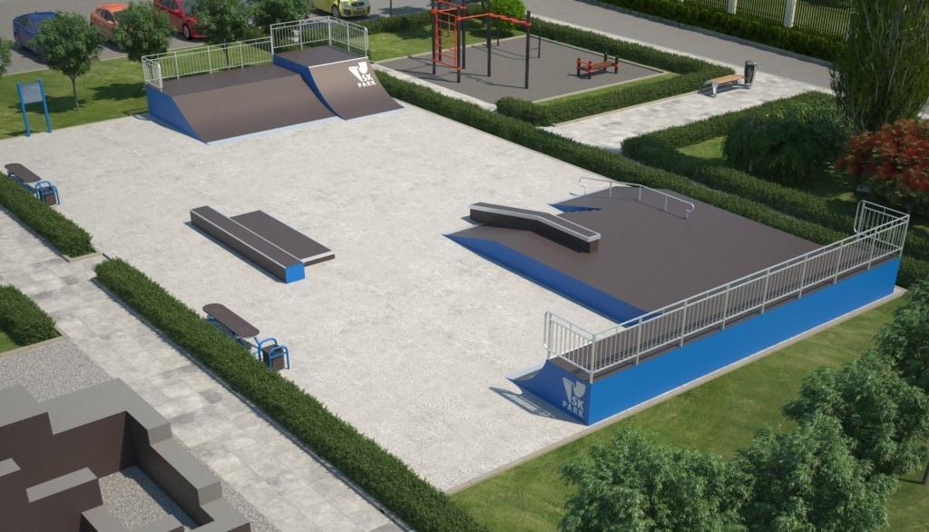 Проект скейтпарка SK 24-14