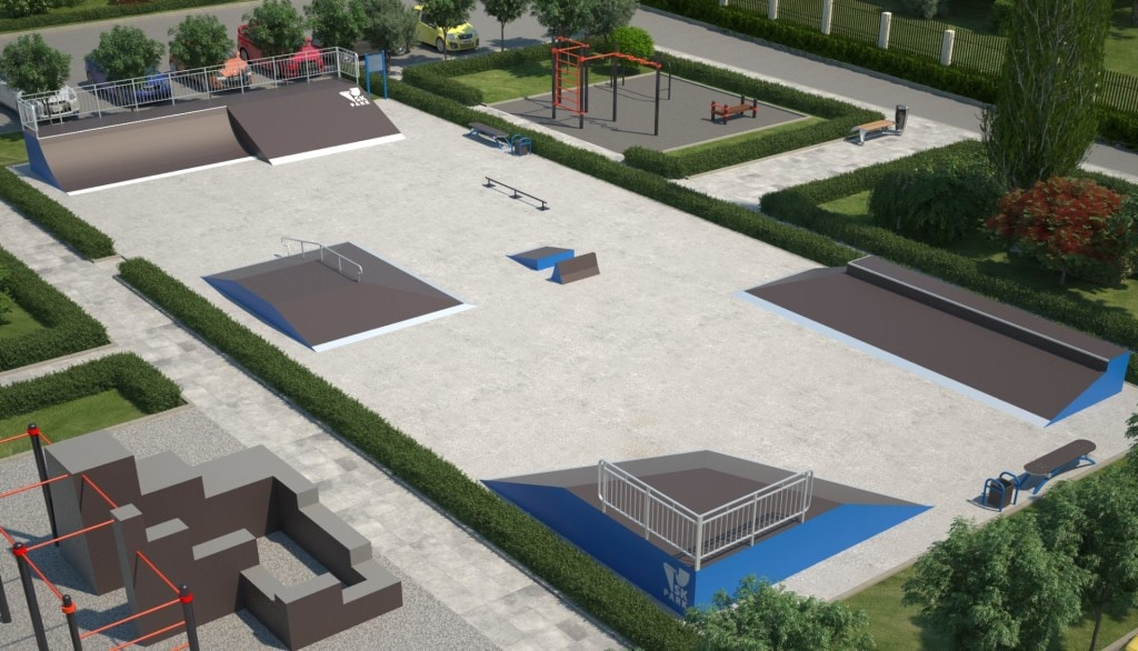 Проект скейтпарка SK 32-14