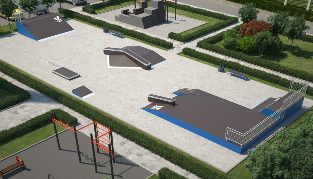 Проект скейтпарка SK 33-13
