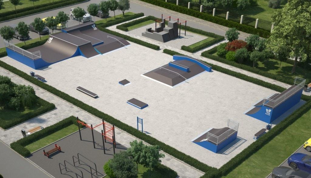 Проект скейтпарка SK 41-19