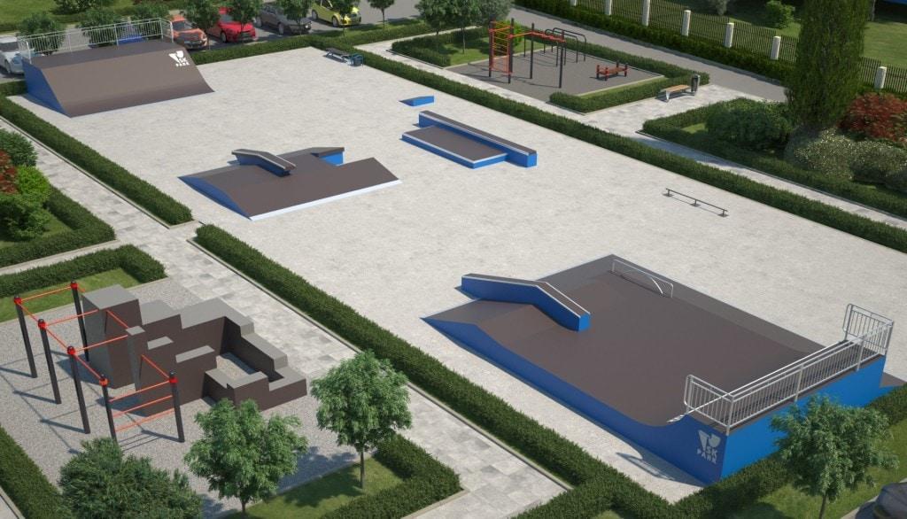 Проект скейтпарка SK 43-17