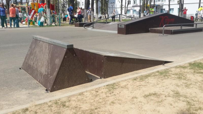 Первый скейт-парк в г. Минск