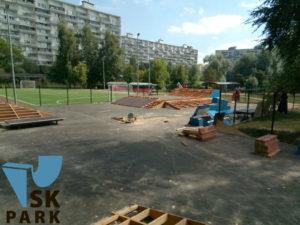 Компания SKpark приступила к монтажу скейт-парка в Зеленограде
